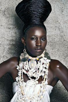 shells - 2012 FashionAFRICANA: Photograph © Mario Epanya, GLAMAZONIA