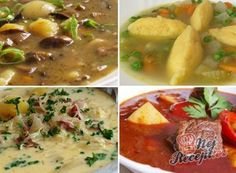 24 nejlepších zimních polévek, které vás zahřejí a zasytí! Czech Recipes, Ethnic Recipes, Food 52, Cheeseburger Chowder, Mashed Potatoes, Food And Drink, Salad, Lunch, Treats