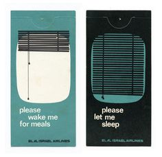 Vintage hotel door hangers from an amazing collection by Michael Lebowitz, all collected by his grandfather.