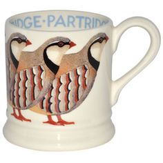 Partridge mug by Emma Bridgewater