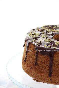 Chiffon cake al caffè 02 Torta Chiffon, American Cake, Plum Cake, Angel Cake, Cake & Co, Bakery Cakes, Love Cake, Cake Cookies, Sweet Recipes