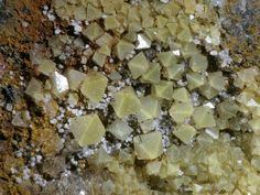 Arsenolite, As2O 3, White Caps Mine, Manhattan District, Nye Co., Nevada, USA