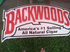 BACKWOODS CIGAR METAL SIGN - http://oddauctions.net/tobacciana/backwoods-cigar-metal-sign/