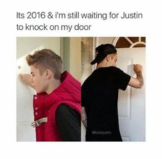 Yup whenever the doorbell goes off I'm the first to open the door just in case that him but I'm still waiting Justin. Justin Bieber Quotes, Justin Bieber Facts, I Love Justin Bieber, Bae, I Love Him, My Love, Celebrity Moms, Celebrity Style, Christina Aguilera