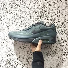 Nike Air Max 90 Ultra SE Mens Trainers in Green