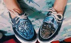 Pierce The Veil Shoes