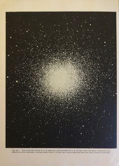 1950s Original Space & Stars Vintage Astronomy Planet Astrology Print - via oddlyends on Etsy