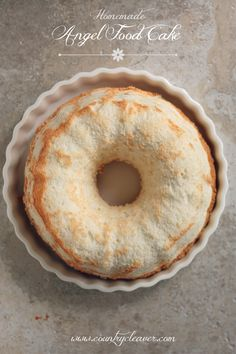 Homemade Angel Food Cake