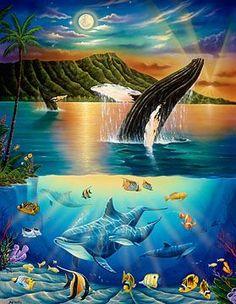 Image result for hawaii underwater mural