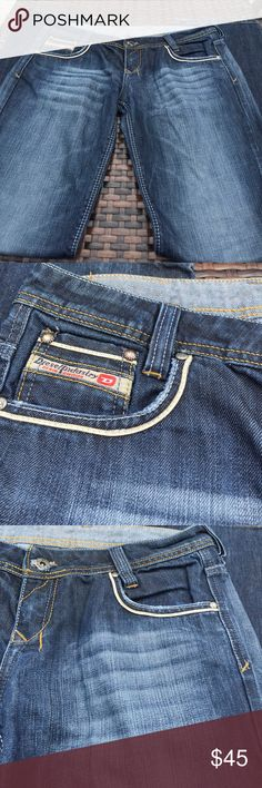 Diesel Brand 31 X 33 Jeans Diesel  Brand Jeans 31 X 33, made in Italy, five pocket jeans, excellent used condition. Diesel Jeans Relaxed