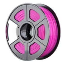 Nueva 3D Filamento Impresora ABS/PLA 1.75mm/3.0mm para la Impresora 3D 1 kg/2.2lbs Material: PLA Tamaño: 1.75mm Color: Fucsia(China (Mainland))