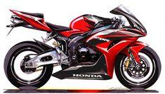 58 Ideas For Motorcycle Sketch Honda Pink Motorcycle, Motorcycle Logo, Motorcycle Travel, Motorcycle Clubs, Motorcycle Design, Bike Design, Honda, Baggers, Audi Tt
