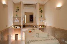 Sala de masajes de Fuerte Miramar