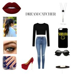 """""""Untitled #50"""" by raquelpandora on Polyvore featuring Lime Crime, Lottie and Topshop"""