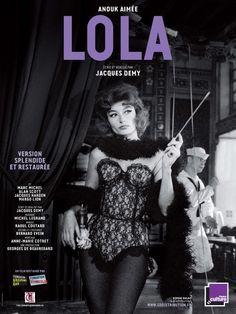 Lola poster 1961 - Anouk Aimée
