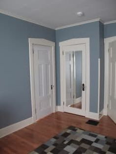 Ghost ship from valspar our home complementary colors for Blue arrow paint color