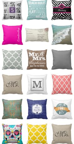 Throw Pillows for every home...