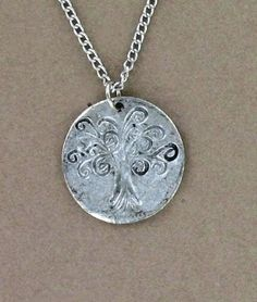 Tree of Life pewter pendant. #MadeinUSA found at Norton's U.S.A!