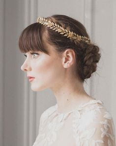 Shop affordable European Handmade Vintage Willow Branches Golden Leaves Flowers Wreath Crown at June Bridals! Over 8000 Chic wedding, bridesmaid, prom dresses & more are on hot sale. Willow Branches, Golden Leaves, Circlet, Leaf Flowers, Hair Jewelry, Jewellery, Chic Wedding, Wedding Accessories, Headpiece