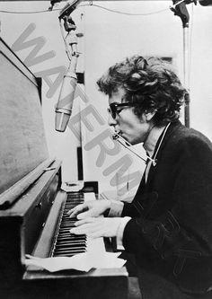 $5.99 - Bob Dylan Piano A3 Art Print Photo Poster Gz6028 #ebay #Home & Garden