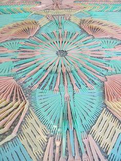 fork rug-detail