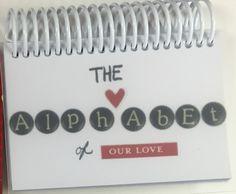 Valentine's Day alphabet of love book