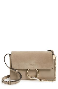 64506a8b9886 Free shipping and returns on Chloé Small Faye Leather Shoulder Bag at  Nordstrom.com.