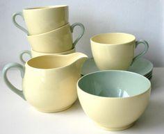 Spode Meadowsweet tea set- vintage