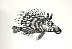 Zebra-Fisch TBB Meer H002