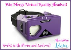 Merge VR Virtual Reality Goggles,the only VR goggles thatwork on both iOS and Android platforms,are the giftfor the techies or early adopters for Valentine's Day. The Merge VR Goggles turn your iOS or Android smartphone into an immersive virtual...