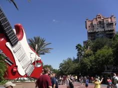 Rockin' Roller Coaster and Tower of Terror