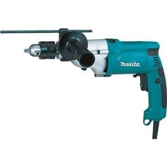 Makita 3/4 Hammer Drill HP2050F Unit: Each, Grey metal