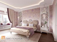 Фото спальня из проекта «Дизайн 4-комнатной квартиры 162 кв.м. в ЖК «Платинум», стиль неоклассика»
