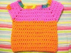 Marla's Baby T-Shirt free crochet pattern