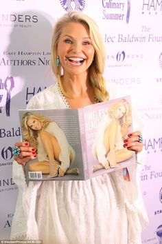 Bookworm:The model released her book, Timeless Beauty, late last year