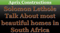 Solomon, South Africa, Beautiful Homes, Construction, Let It Be, Wordpress, House Of Beauty, Building, Nice Houses