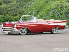 Chevy Bel Air 1957 This Was Always My Papis Favv Car. <3