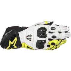 Alpinestars GP Pro noir blanc KNIESCHLEIFER Moto Sport Racing Motogp