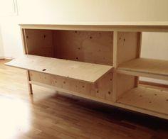 Sideboard handmade Sideboard, Bench, Storage, Projects, Handmade, Furniture, Home Decor, Bedside Desk, Creative