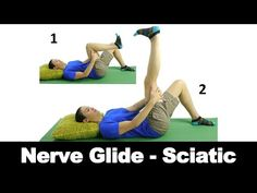 A sciatic nerve glide can help relieve the pain and pressure caused by a…