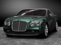 The new Bentley Zagato gtc...