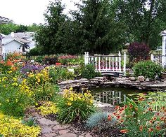 """Would like to meander thru here to my """"back yard cottage"""". . .can't wait for spring!"""