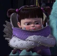 My fav movie Monsters Inc Boo💜 Cartoon Wallpaper Iphone, Cute Disney Wallpaper, Cute Cartoon Wallpapers, Wallpaper Awesome, Wallpaper Wallpapers, Monsters Inc Boo, Disney Icons, Disney Art, Disney Pixar