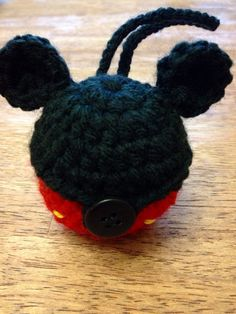 Mickey EOS Lip Balm Holder/Treat Pouch - (EOS not included) on Etsy, $7.25