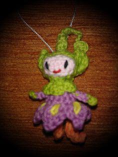 Amigurimi flor duende: Aly