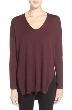 Trouvé V-Neck Tunic Sweater