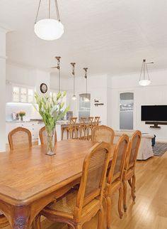 dining room in queenslander