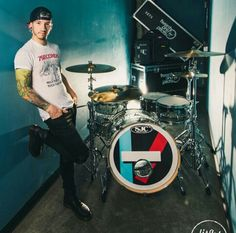 Josh Dun with his love