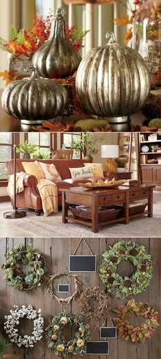 Fall is in the air! A seasonal wreath welcomes guests the moment they arrive, while autumn-inspired pillows and decor offer easy updates that complement the crisp weather. Shop Birch Lane's selection of timeless looks and receive free shipping on all orders $49 and over.