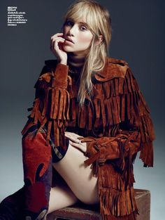 Youth Quake: Suki Waterhouse by Marcin Tyszka for Vogue Thailand September 2015 - Burberry Fall 2015